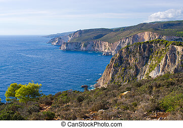 Cliffs of Keri, Zakynthos, Greece - Cliffs of Keri -...