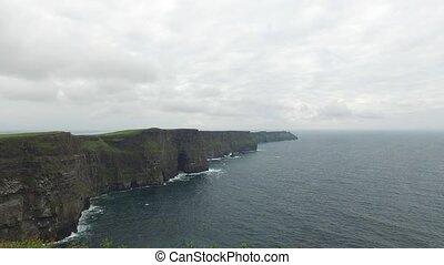 cliffs of moher and atlantic ocean in ireland 45 - nature...