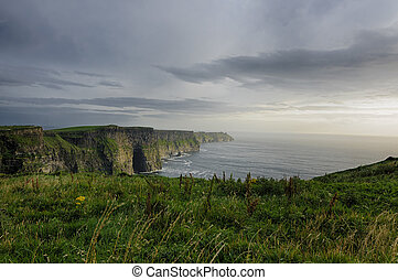 Cliffs of Moher, County Clare, Ireland, Europe - The...
