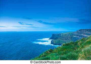 Cliffs of Moher in Co. Clare, Ireland Europe