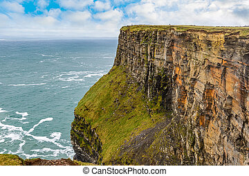 Cliffs of Moher Tourist Attraction in Ireland