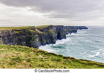 Cliffs of Moher Tourist Attraction in Ireland