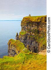 Cliffs of Moher - Beautiful dusk landscape of Cliffs of...