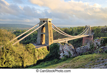 Beautiful Bridge in Bristol England
