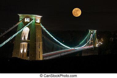 Clifton Suspension Bridge, Bristol,UK - The World Famous...