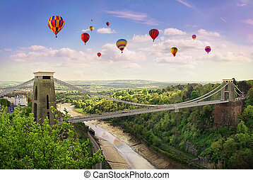 Clifton Suspension Bridge. - The World Famous Clifton...