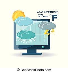 clima, tiempo, diseño