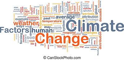 Climate change background concept - Background concept...