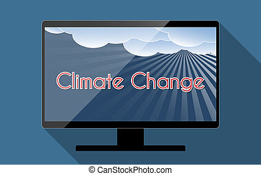 Climate change - Concept for climate change and global...