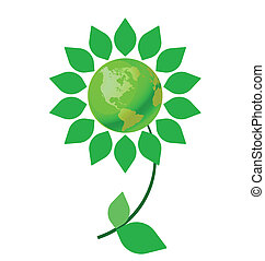 climate change flower - Environmental climate change flower...