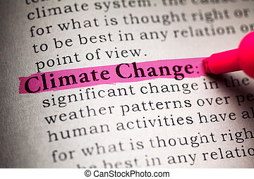 Climate Change - Fake Dictionary, definition of the word...