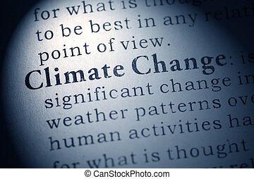 Climate Change - Fake Dictionary, Dictionary definition of...