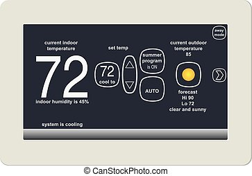 Climate control - Wireless thermostat for ambient...