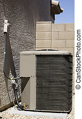 climatiseur, compresseur, air