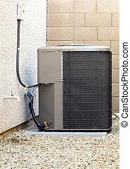 climatiseur, compresseur air