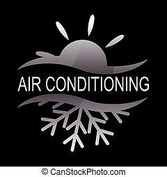 climatiseur, conception, air