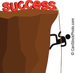 climb for success
