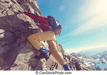 Climb - The climb
