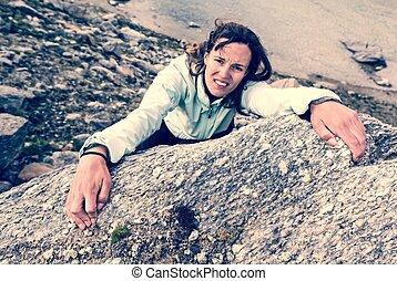 climber., femmina