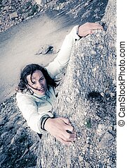 climber., hembra