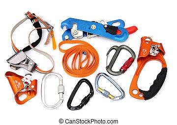 Climbing gear and speleology equipment - Caving and climbing...