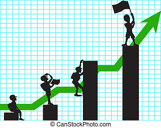 climbing in business