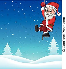 Climbing Santa Claus topic image 1