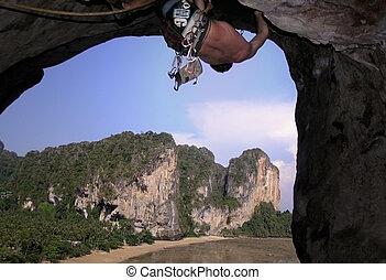 climbing -  climbing thailand