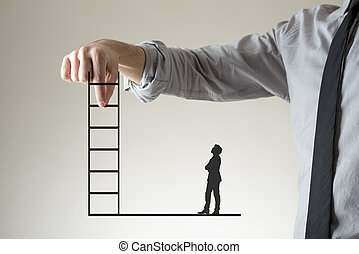 Climbing the corporate ladder to success