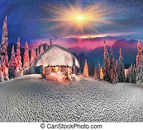 Christmas in the Carpathians - Climbing to tourist wild ...