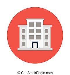 clinic flat icon