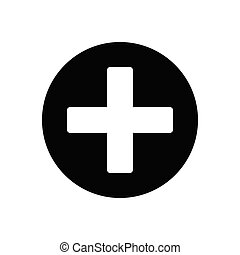 clinic  glyph flat icon