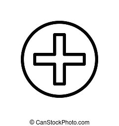 clinic  thin line icon