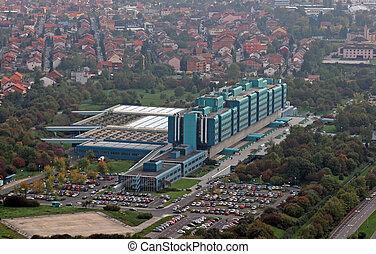 Clinical hospital Dubrava in Zagreb
