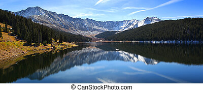 Clinton Gulch Dam Reservoir near Fremont Pass