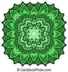 Clip art for saint patricks day with shiny clover