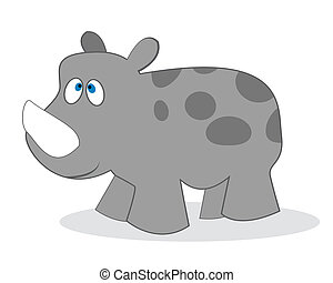 clip art rhino