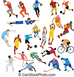 clip-art, sport