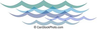 Clip art transparent waves