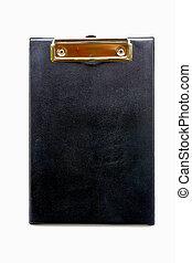 Clip board leather