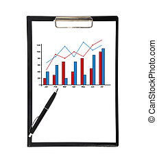 clip board with chart