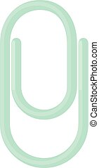 Clip icon, cartoon style
