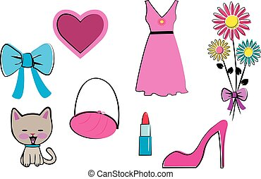 clip images girly
