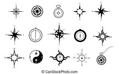 clipart, compas