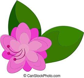 Clipart of an azalea flower that looks adorable vector or ...