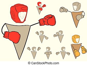 Clipart with boxers signs