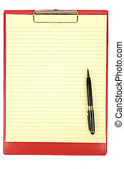clipboard , κόκκινο
