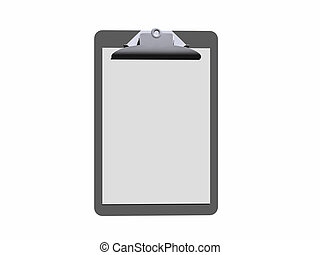 clipboard. - A clipboard created with bryce.