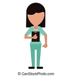 clipboard, avatar, doktor