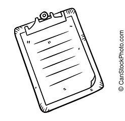 Clipboard doodle